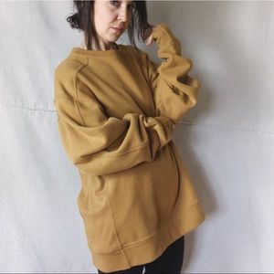 CHAMPION Ochre Oversized Super Soft Sweatshirt